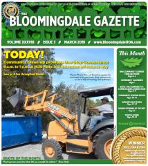 March 2018 Gazette cover