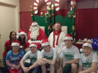 Santa and elves 1, 2013 - Copy