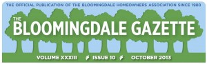 Bloomingdale Gazette BAnner