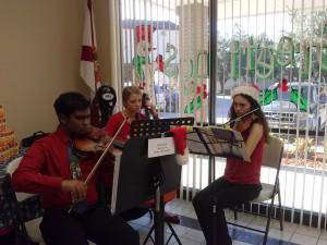 Santa Musicians, 2013